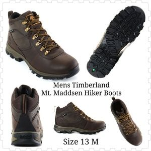 🆕Mens Timberland Mt. Maddsen Hiker Boots